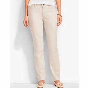 NEW Talbots Flawless Five Pocket Slim Ankle Pants